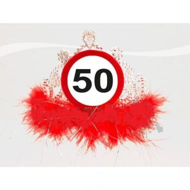 Évszámos tiara 50-es