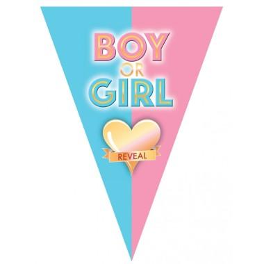 Boy or girl zászlófűzér