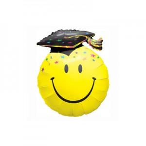 Ballagásra fóliás lufi smile-diploma