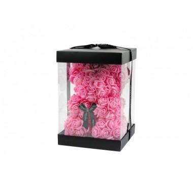 Virágmaci rózsaszín, díszdobozban