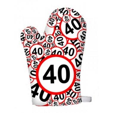 Sebességkorlátozó fogókesztyű 40-es