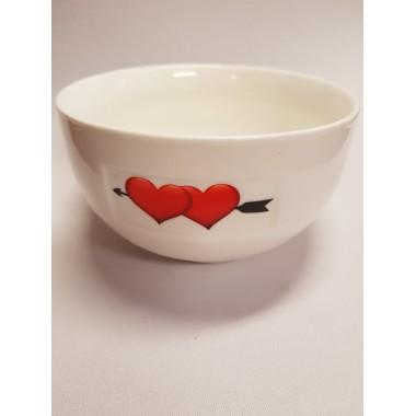 Müzlis porcelán tál