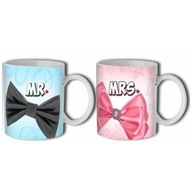 Mr. és Mrs. páros bögre