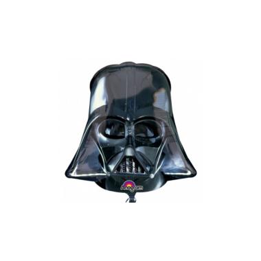 SuperShape -Star Wars -Darth Vadersisak fólia lufi