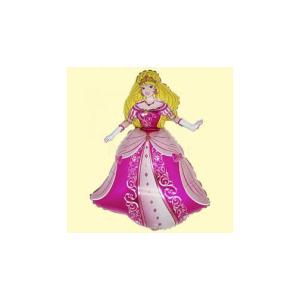 SuperShape - Hercegnő fólia lufi