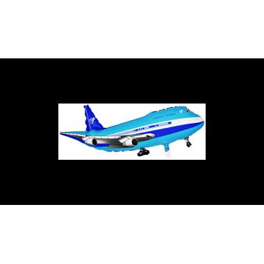 SuperShape - Repülő kék fólia lufi