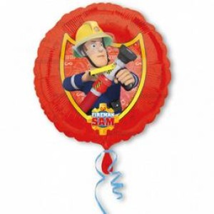 17 inch-es Fireman Sam - Tűzoltó Fólia Lufi