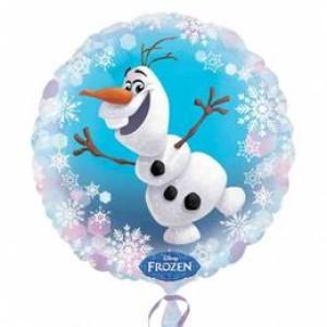 18 inch-es Jégvarázs - Frozen Olaf Fólia Lufi