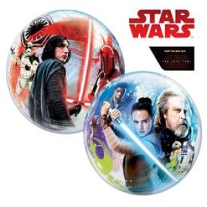 22 inch-es Disney Star Wars The Last Jedi Bubbles Lufi