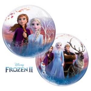 22 inch-es Jégvarázs 2 - Disney Frozen 2 Bubble Lufi