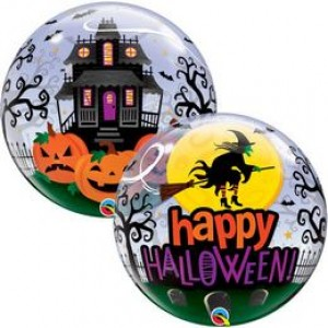 22 inch-es  Bubble Lufi Halloweenre