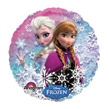 18 inch-es Jégvarázs - Disney Frozen - Holografikus Fólia Léggömb