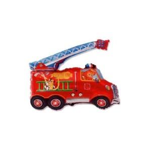 Tűzoltó autó fólia lufi