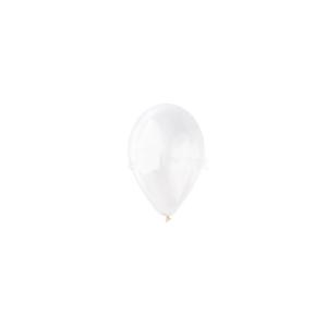 12 inch-es fehér gumi léggömb
