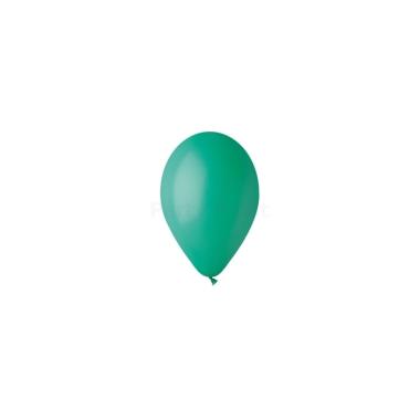 12 inch-es sötétzöld gumi léggömb