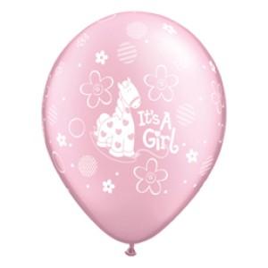 11 inch-es It is A Girl Soft Pony Prl Pink Lufi Babaszületésre