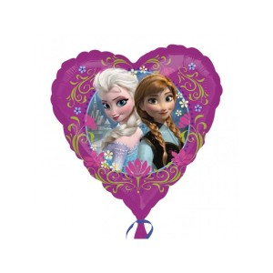Jégvarázs - Disney Frozen Love - Héliumos Fólia Lufi