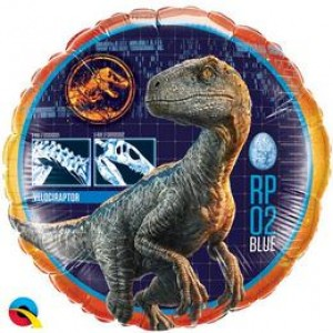 18 inch-es Jurassic World Fólia Lufi