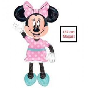 Minnie Egér - Minnie Mouse Disney Sétáló Fólia Lufi