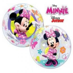 22 inch-es Disney Bubbles Minnie Mouse Bow-Tique Lufi