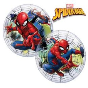 22 inch-es Marvel's Bubbles Spiderman Web - Pókember Lufi