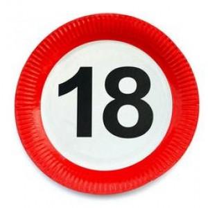 Sebességkorlátozó 18-as tányér