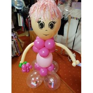 Lányos rózsaszín álló oszlop