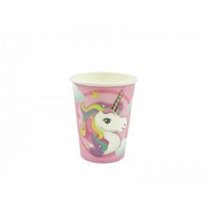 Unicornis Party pohár  6db