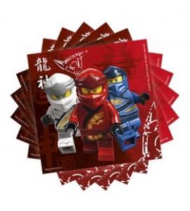 Lego Ninjago Szalvéta - 20 db-os, 33 cm x 33 cm