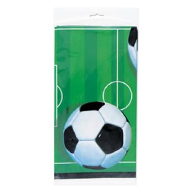 3-D Soccer - Foci Parti Asztalterítő - 137 cm x 213 cm