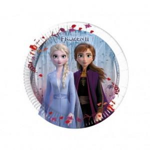 Frozen II. jégvarázs parti tányér