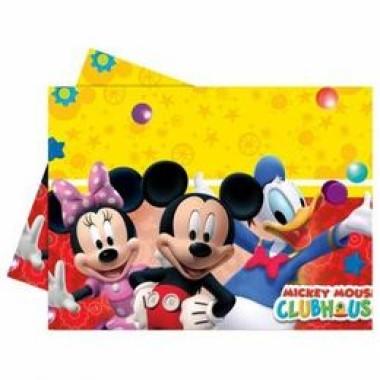 Playful Mickey Parti Asztalterítő - 180 cm x 120 cm