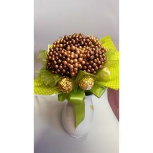 Csokoládés virágcsokor