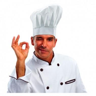 Szakács , séf sapka
