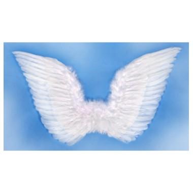 Fehér Toll Angyalszárny - 75 cm x 45 cm