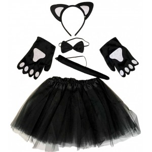Fekete cica szett szoknyávak 5 részes