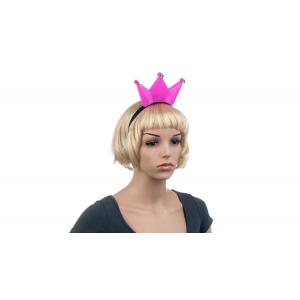 Világító pink korona