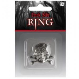 Koponya - Halálfej Gyűrű