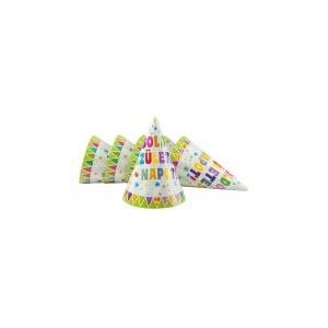 Zászlós Boldog Születésnapot csákó, 6 db