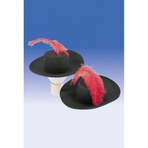 Tollas testőr kalap