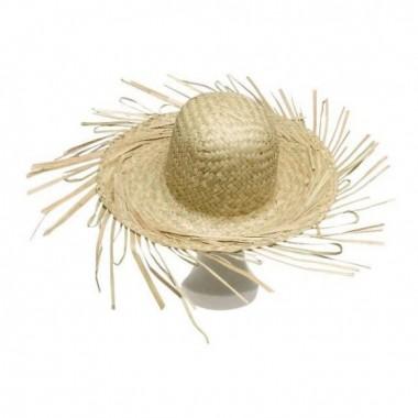Szalma kalap natúr felnőtt méret