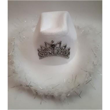 Fehér sheriff kalap
