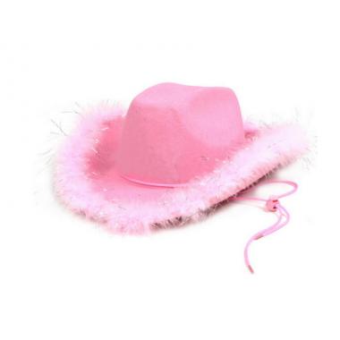 Cowboy kalap rózsaszín
