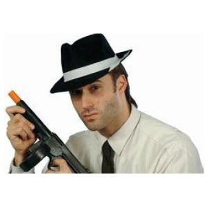 Fekete Al Capone Parti Kalap