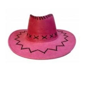Cawboy kalap rózsaszín