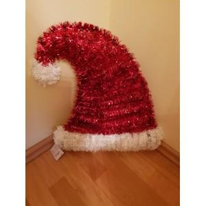 Karácsonyi dekoráció mikulás sapka