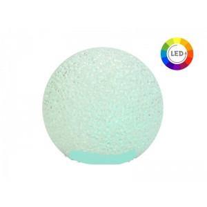 LEDes gömb színes 11,5cm