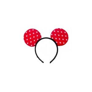 Minnie Mouse Fejdísz Piros Pöttyös