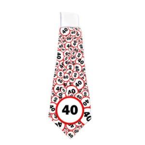 Sebességkorlátozó nyakkendő 40-es