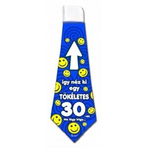 Nyakkendő 30-as kék